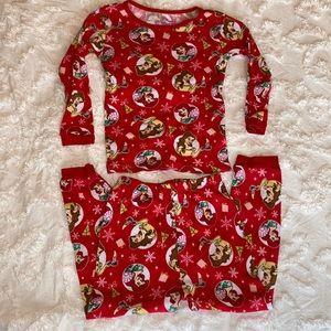 Disney princess, Christmas pajama set